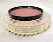 Tiffen  72mm FL-D USA   Lens Filter   -  Free Shipping USA