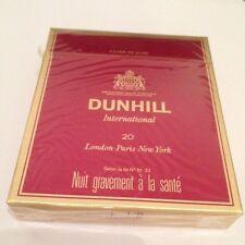 """Ancien paquet de cigarette plein """"dunhill"""" pour collection"""