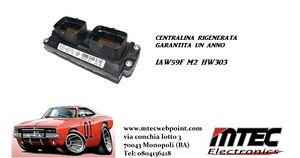 CENTRALINA FIAT 12 MESI GARANTITA IAW 59F M2 HW303