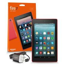 """Fire 7 Tablet w/ Alexa 7"""" Display 16GB Punch Red - w/ Special Offers Brand NEW"""