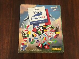 FRANCE 1998 sticker album COMPLETED Panini PLEASE READ DESCRIPTION