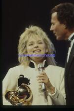 FRANCE GALL 1980s DIAPOSITIVE DE PRESSE ORIGINAL VINTAGE SLIDE #2
