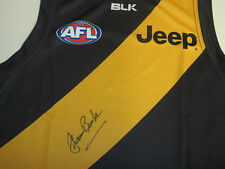 Richmond - Francis Bourke (legend) signed jersey + COA + Photo proof of signing