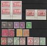 Australia 1925-40 KGV & KGVI Collection Part Sets Imprint Blocks MNH & Fine Used