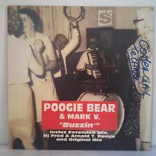"""Mark V. & Poogie Bear – Buzzin (Vinyl, 12"""", Maxi 33 Tours)"""