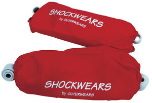 Outerwears - 30-1105-03 - Shockwears Shock Cover, Rear/Red`