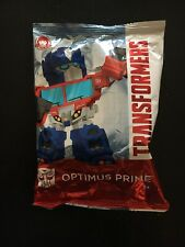 Wendy's Transformers kids meal Optimus prime 35th Anniversary