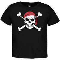 Jolly Roger Pirate Costume Toddler T-Shirt