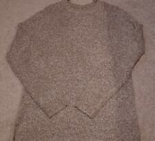 NWT Men's Forever 21 Elongated Crewneck sweater Taupe Size L