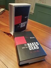 FIRST EDITION LIBRARY FEL THE NAKED AND THE DEAD NORMAN MAILER