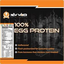 3lbs Instant Egg White Protein Powder CHOCOLATE Bulk Direct FREE SHIPPING