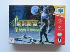 NEW Factory Sealed Castlevania Legacy of Darkness Nintendo 64 N64 Authentic OEM