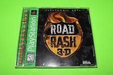 Road Rash 3D Complete PSX PS1 Playstation Complete TESTED WORKS