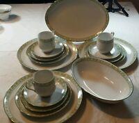 Sango Daisy Chain Pattern China #6277 Dinnerware China Dishes
