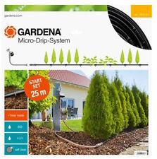 GARDENA Start Set Micro-Drip-System Tropfbewässerung Pflanzreihe M automatic