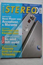 STEREO 5/03,DYNAUDIO CONTOURS1,4,S5.4,KRELL KAV 280P,2250,THORENS TD 850,AUDIO