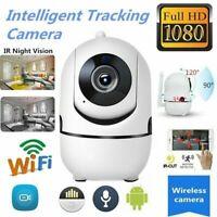 Cámara de Seguridad IP Inalámbrica WiFi FHD 1080P para Interiores Alarma de IR