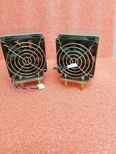HP WorkStation XW8600 XW6600 CPU Heatsink with Fan 446358-001 2 PACK NEW BULK