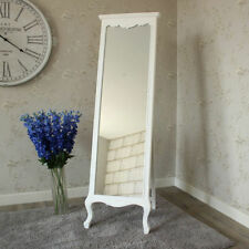 French Country Wood Free Standing/cheval Decorative Mirrors