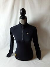 Nike Fit Dry women's black long sleeve athletic top size XS