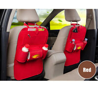 Car Seat Back Protector Cover Children Baby Kick Mats Protect Storage Bag