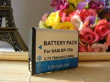 Battery for Samsung BP70A PL100 PL120 PL80 PL81 PL90 PL20 PL200 PL201 ST60 ST30