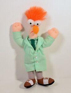 "RARE 2002 Beaker 6.5"" McDonald's EUROPE Plush Action Figure The Muppets"
