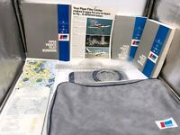 Piper Private Pilot Kit with Bag Workbook Briefers Manuals Tools Maps Airplane