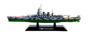 Eaglemoss 1:1100 Italian Littorio Class Battleship - Littorio, #EMGC25