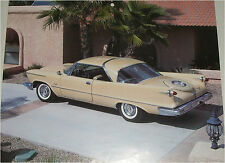 1958 Imperial Crown Coupe car print (tan)