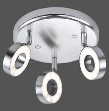 LED Deckenleuchte LeuchtenDirekt Lukas 16123-55 Wohnraumlampe 3er Spotstrahler