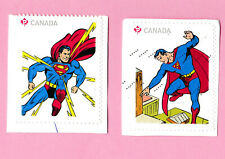 Stamps CANADA SUPERMAN superheroes Canadian 75 anniversary