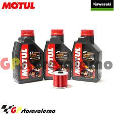 TAGLIANDO OLIO + FILTRO MOTUL 7100 10W50 KAWASAKI 650 KLR 2007