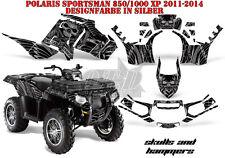 AMR Racing DECORO GRAPHIC KIT ATV POLARIS SPORTSMAN modelli SKULLS N Hammers B