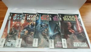 Dark Horse Comics Star Wars Obsession # 1-5 Complete Set - 1st Prints