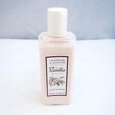 Crabtree & Evelyn VANILLA Body Lotion 6.8 oz 200 ml NEW NWOB, RARE