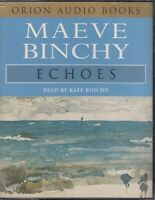 Maeve Binchy Echoes 4 Cassette Audio Book Contemporary FIction Abridged FASTPOST