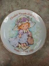Vintage Cherished Moments 1981 Mothers Day Plate Avon Gift Collector Plate 5''