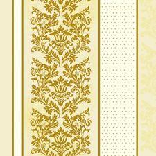 """20 Servietten """"Classic Roccoco Ecru"""" 33x33 Napkins Ornamente Muster"""
