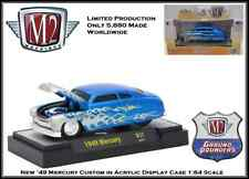 New M2 1/64 Diecast Car '49 Mercury in Acrylic Display Case Only 5,880 made