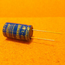 25F (Farad). 2.7V Capacitor. Supercapacitor. Ultracapacitor. Very Low ESR.
