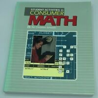 STUDENT ACTIVITIES IN CONSUMER MATH for Christian Schools, Teacher's Edition*NEW