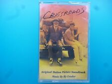 "RY COODER   ""  CROSSROADS - ORIGINAL SOUNDTRACK  ""  CASSETTE ( 1986 )"