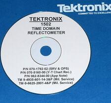 TEKTRONIX 1502 TDR  & Y-T  Operating & Service Manuals (3 volumes)