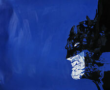 Batman Oil Painting 20x16 in. NOT a print Framing avail..Joker Dark Knight