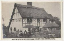 Ann's Cafe Whipsnade, Bedfordshire RP Postcard B786