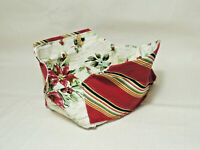 LONGABERGER 2006 Holiday Helper Basket Fabric Liner Only - Never used
