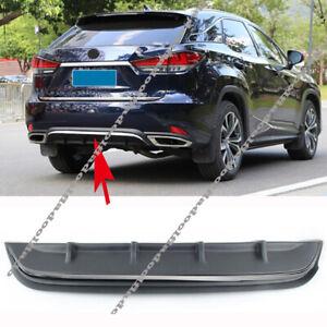 For LEXUS RX350 RX450H 2020-21 Rear Bumper Body Kit Spoiler Diffuser Trim Cover