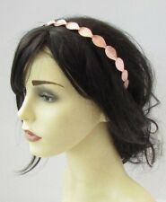 Rose Gold Leaf Headband Hair Crown Grecian Bridal Tiara Bridesmaid Headpiece U60