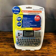 Royal Personal Organizer w/ Spell Checker Translator Calculator 256Kb Dm4070 New